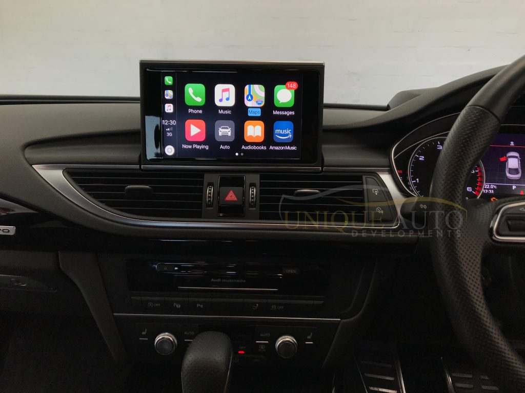 Wireless Carplay Navigation Interface Audi A 2017