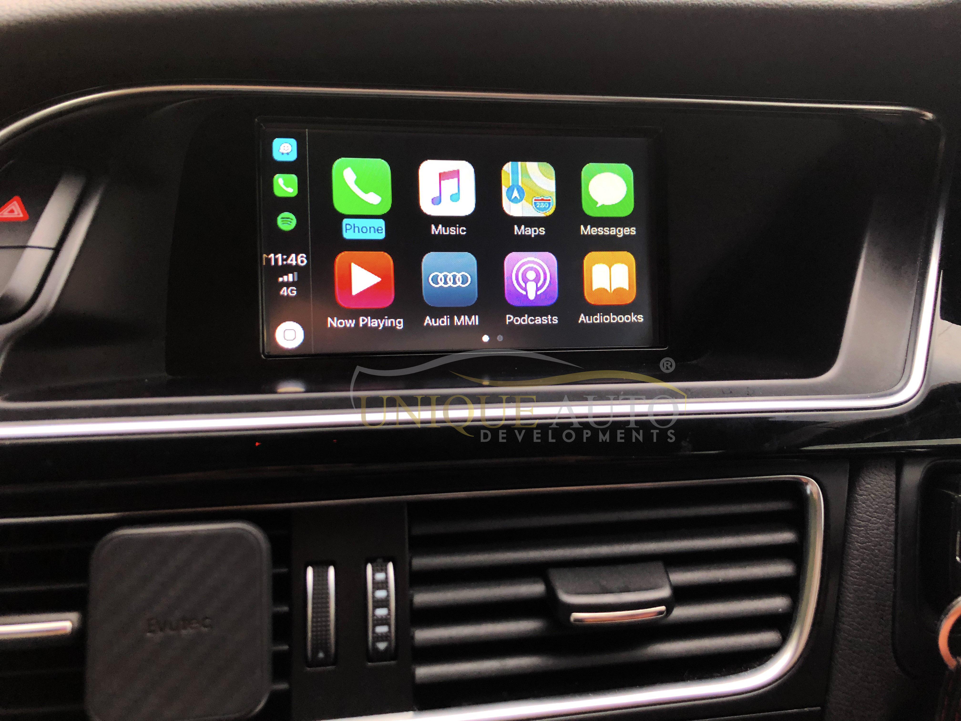 Wireless CarPlay Retrofit Audi Q5 2008-15 Concert GPS MMI