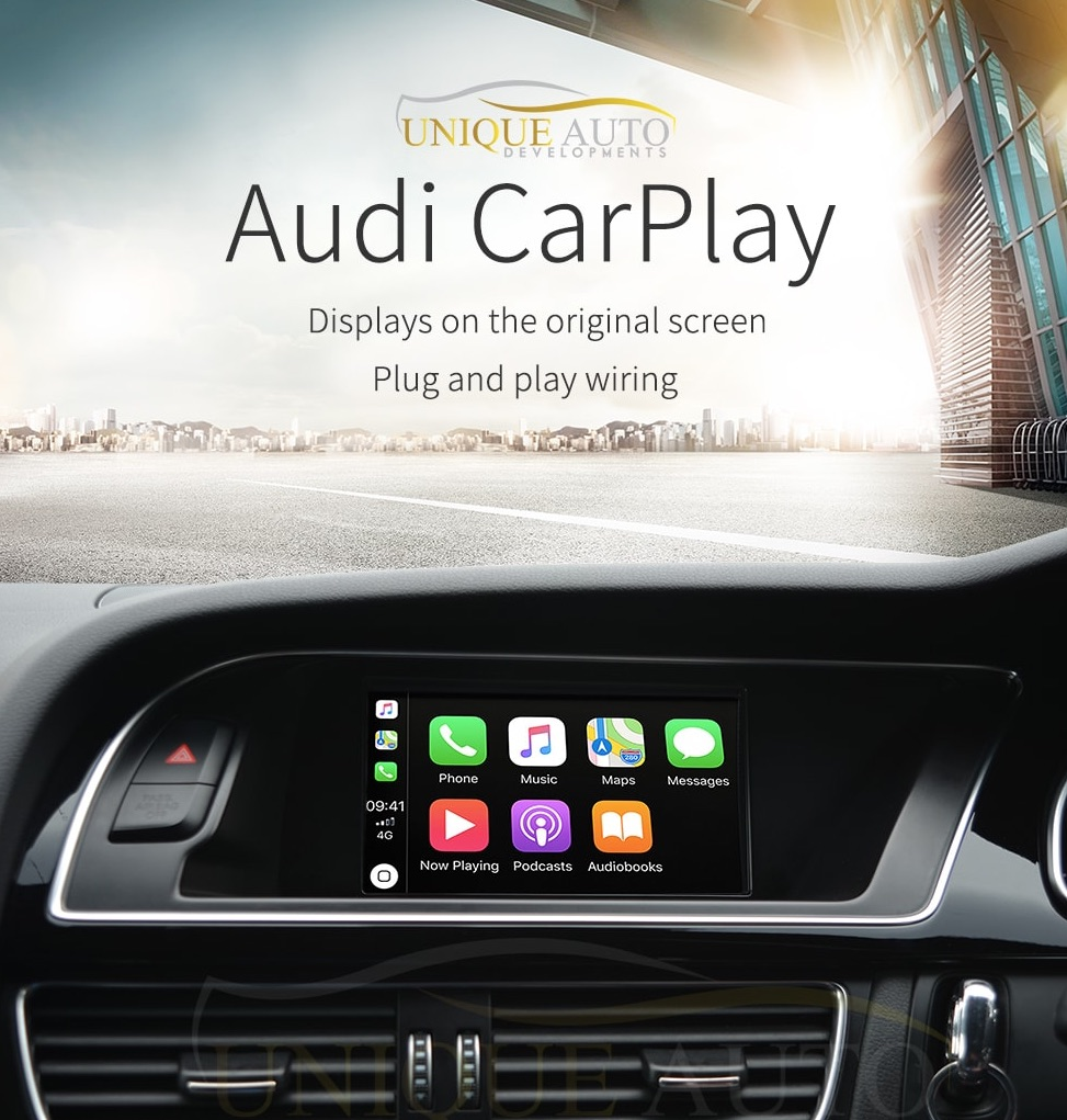 Wireless Apple CarPlay Retrofit Kit Audi A4 A5 B8 2008-2016