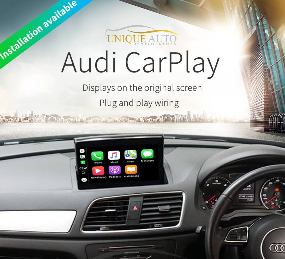Wireless Apple CarPlay Retrofit Kit Audi Q3 2011-2018