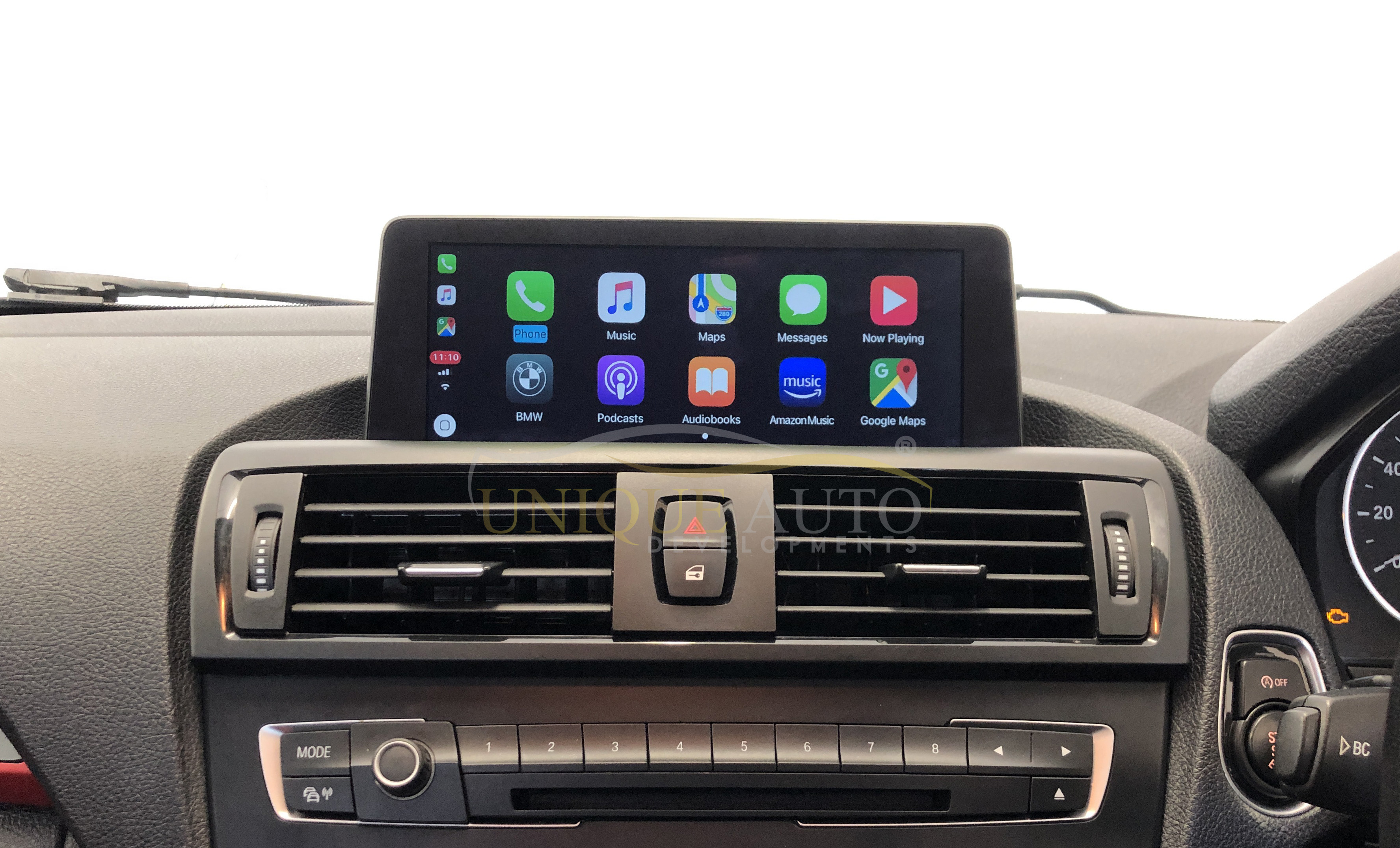 Wireless Apple Carplay Android Auto Bmw Nbt Widescreen 8 8 10 2 F10 F20 F30 1 2 3 4 5 Series 2013 2016 Navigation Camera Interface Unique Auto Developments