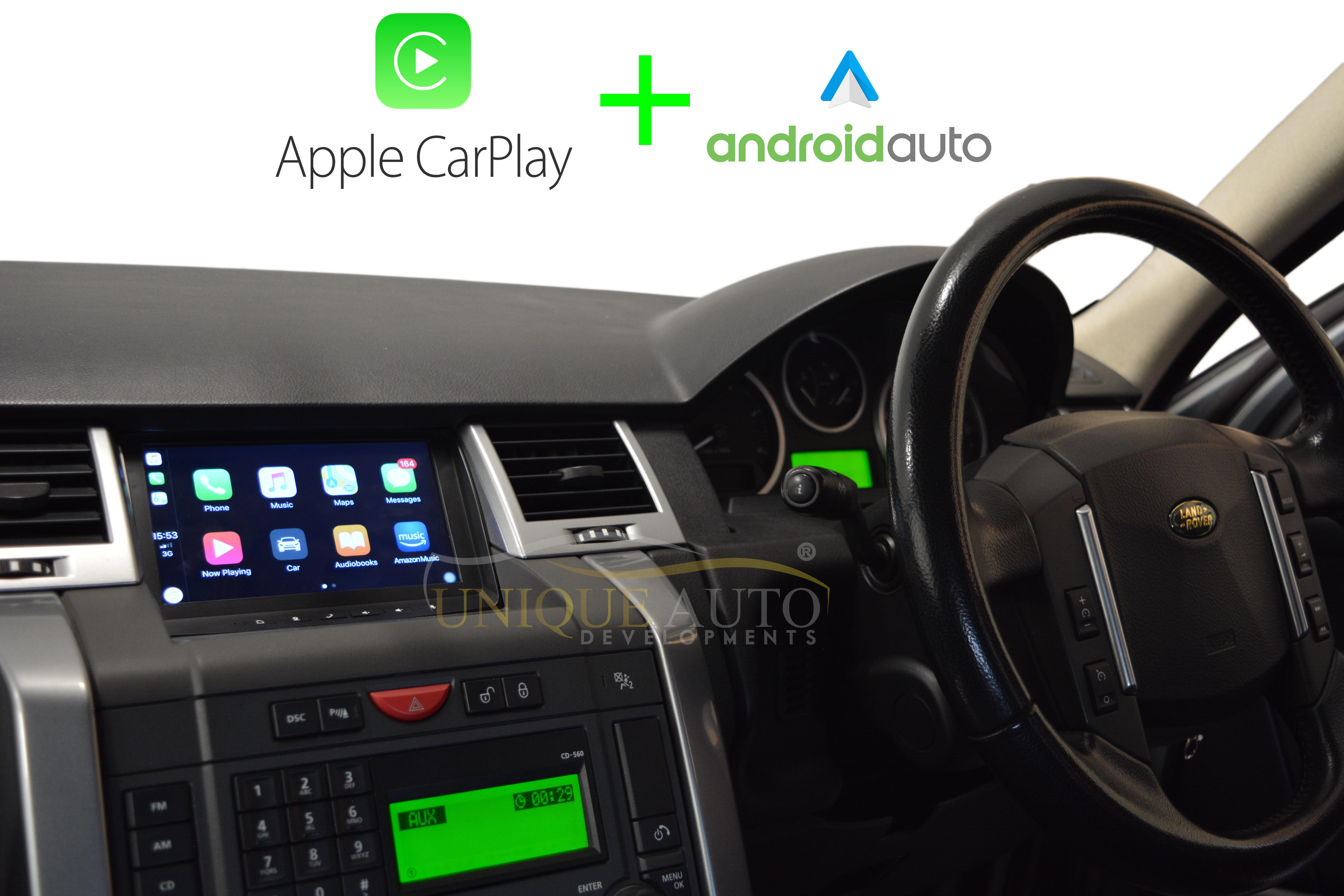 Discovery 3 Range Rover Sport Android Navigation with CarPlay and Android  Auto
