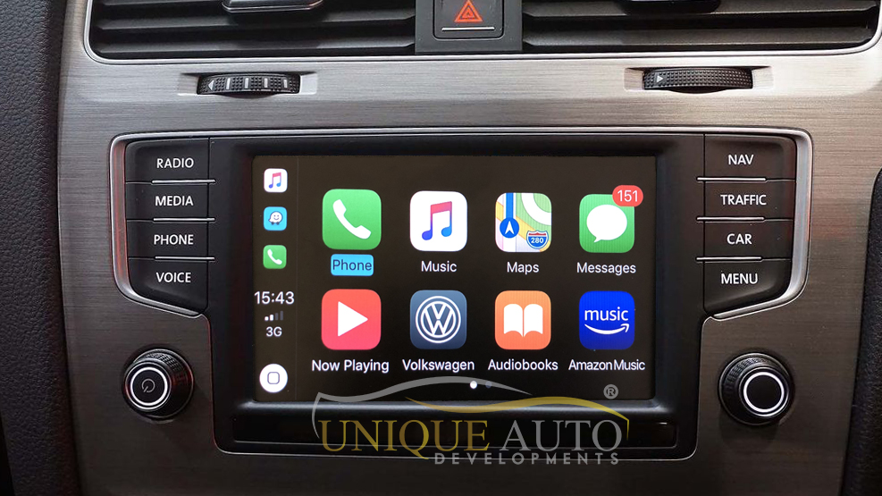 Wireless CarPlay Interface for VW MIB 1/MIB 2 Golf MK7 Passat Polo