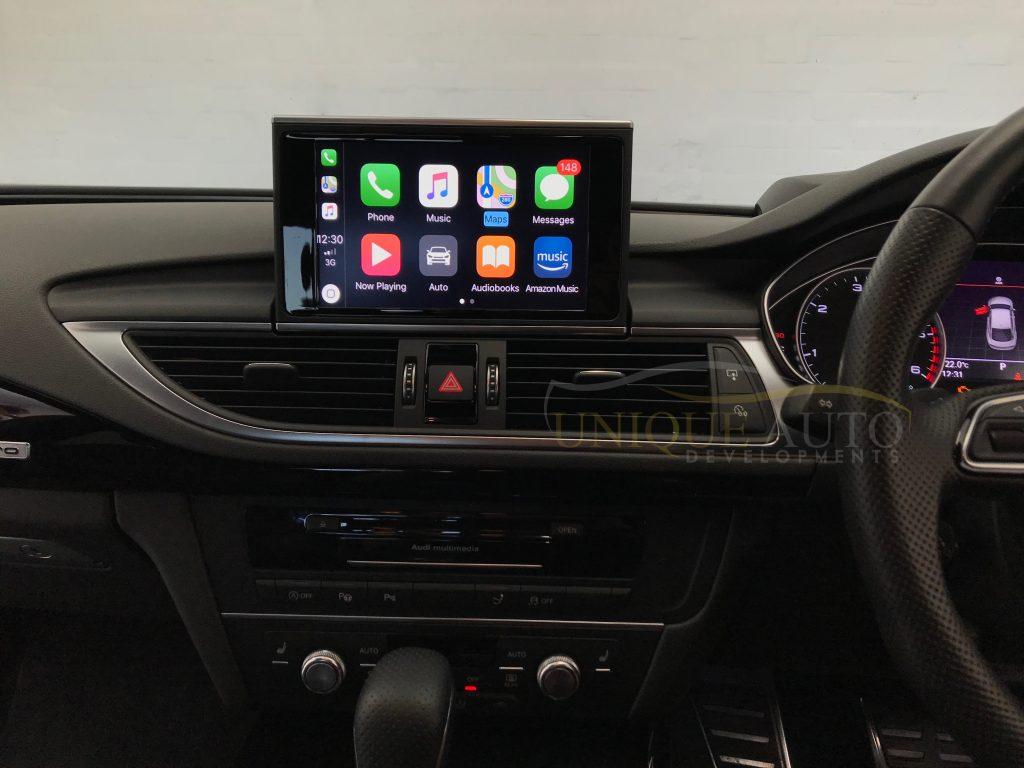 carplay navigation interface audi a6 a7 2011 2017 gps mmi. Black Bedroom Furniture Sets. Home Design Ideas