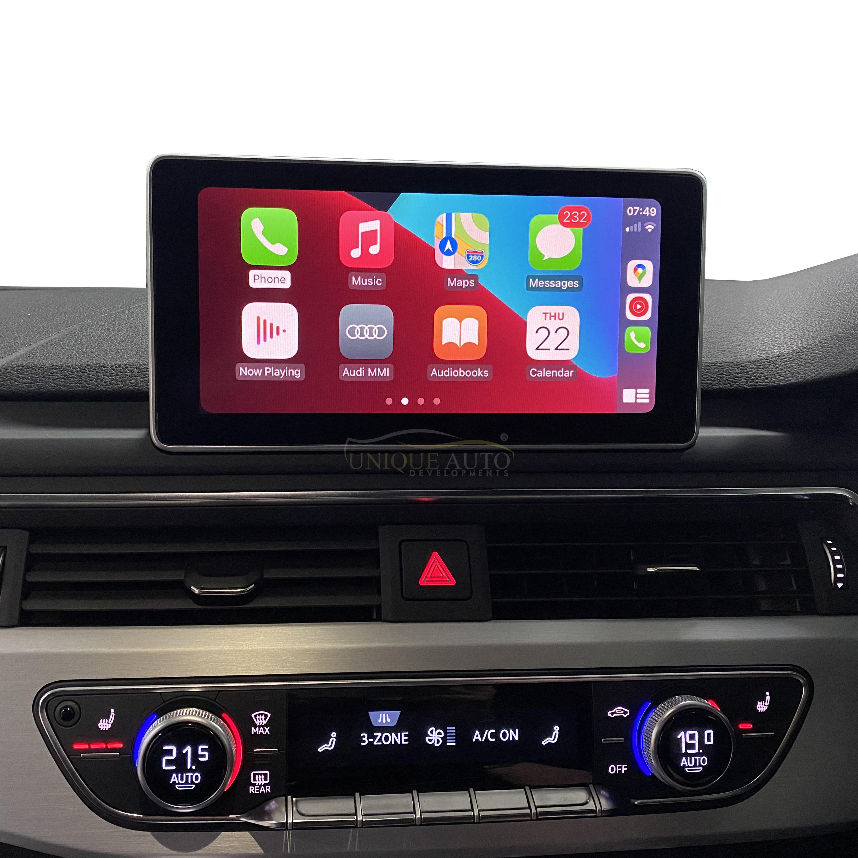 Wireless Apple CarPlay Android Auto retrofit kits Audi A4 ...
